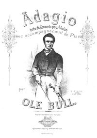 Violin Concerto in E minor : Piano score... by Bull, Ole