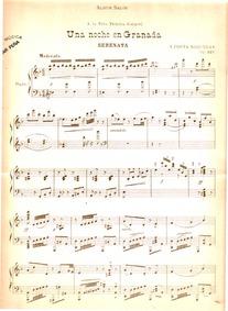 Una Noche en Granada, Op.127 (Serenata) ... Volume Op.127 by Costa Nogueras, Vicente