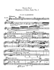 Daphnis et Chloé Suite No.1 (Fragments s... Volume M.57a by Ravel, Maurice