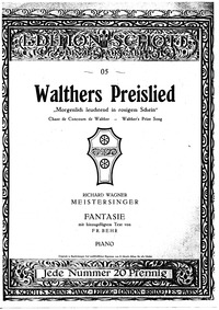 Fantasie on Walthers Preislied : Complet... by Behr, Franz