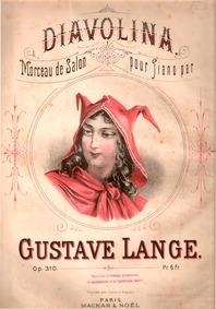Diavolina (Morceau de Salon) : Complete ... Volume Op.310 by Lange, Gustav