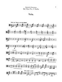 Šárka, JB 1:112/3 : Violas Volume JB 1:112/3, T.113 by Smetana, Bedřich