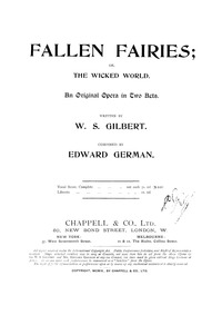 Fallen Fairies (The Wicked World ; The M... by German, Edward