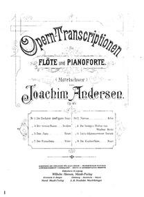 Opera Transcriptions, Op.45 : 2. Norma (... Volume Op.45 by Andersen, Joachim