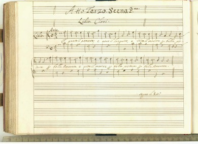 L'Egisto : Act III by Cavalli, Francesco