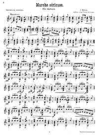 Marche Serieuse : Complete Score by Franz, J.