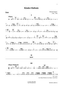 Kindersinfonie (Berchtoldsgaden-Musik) :... by Angerer, Edmund