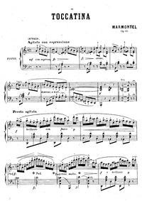 Toccatina, Op.111 : Complete score Volume Op.111 by Marmontel, Antoine François