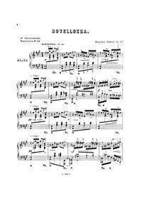 Novellozza, Op.47 : Complete score Volume Op.47 by Godard, Benjamin