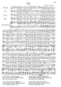 Dort oben auf dem Berge : Complete Score by Senfl, Ludwig