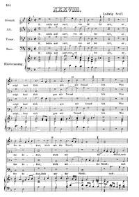 E schön und zart, von edler Art : Comple... by Senfl, Ludwig