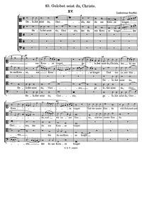 Gelobet seist du, Christe : Complete Sco... by Senfl, Ludwig