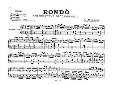 Rondò con imitazione de campanelli (Bell... by Morandi, Giovanni
