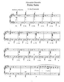 Petite suite : Complete score by Borodin, Aleksandr