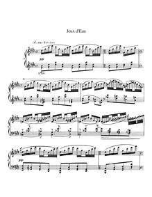 Jeux d'eau : Complete Score Volume M.30 by Ravel, Maurice