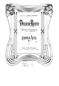 Reverie No.2 : Piano Score by Auer, Leopold
