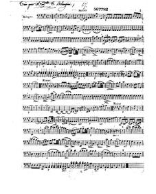 String Trio in A major, Op.1 : Cello Volume Op.1 by Blangini, Thérèse