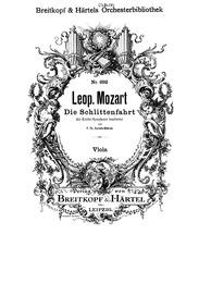 Die musikalische Schlittenfahrt (Diverti... by Mozart, Leopold