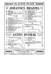 Valčíků : Heft 2 Nos.5-8 Volume Op.54, B.101 by Dvořák, Antonín