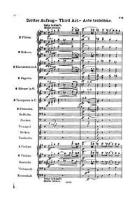 Lohengrin, WWV 75 : Act III Volume WWV 75 by Wagner, Richard