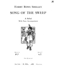 Song of the Sweep (A Ballad) : Complete ... by Shelley, Harry Rowe