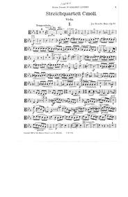 String Quartet, Op.19 : Viola Volume Op.19 by Brandts Buys, Jan