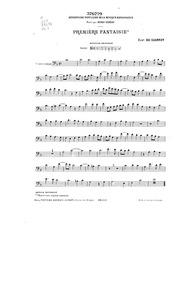 Fantasie 1 : Cello by Du Caurroy, Eustache