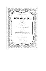 Légende pour orchestre : Complete Score Volume Op.11 by Svendsen, Johan