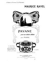 Pavane pour une infante défunte (Pavane ... Volume M.19 by Ravel, Maurice