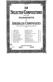 Air and Rigaudon, Op.49 : No.1. Air Volume Op.49 by MacDowell, Edward