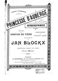 Herbergprinses (Princesse d'Auberge) : C... by Blockx, Jan