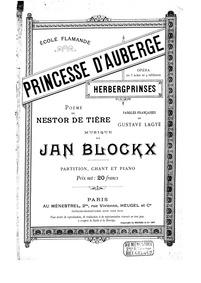 Herbergprinses (Princesse d'Auberge) : C... by Blockx, Jan