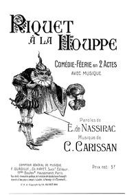 Riquet à la houppe (Féerie musicale enfa... by Carissan, Célanie