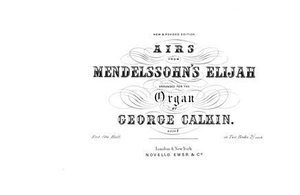 Elijah, Op.70 : Complete Score Volume Op.70 by Mendelssohn, Felix