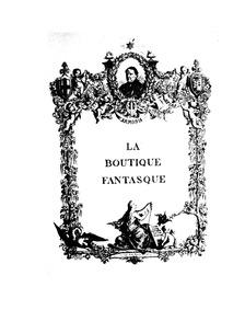 La boutique fantasque (The Magic Toy Sho... by Respighi, Ottorino