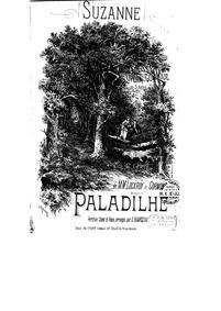 Suzanne (Opéra-comique en trois actes) :... by Paladilhe, Émile
