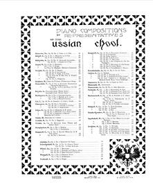 Les Rêves (5 Mélomimiques) : 4. Nereid Volume Op.15 by Rebikov, Vladimir