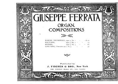 Italian Spring Melodies, Op.7 : Complete... Volume Op.7 by Ferrata, Giuseppe