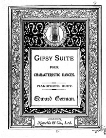 Gipsy Suite : Complete score by German, Edward
