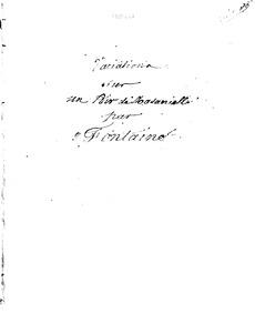 Variations brillantes sur Notre-Dame du ... Volume Op.21 by Fontaine, Antoine-Nicolas-Marie