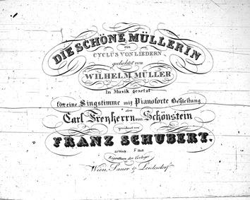 Die Schöne Müllerin, D.795 (Müllerlieder... Volume D.795 (Op.25) by Schubert, Franz