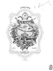 Piano Quintet, Op.11 : Complete Score Volume Op.11 by Boisdeffre, René de