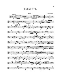 Quintet for 2 Violins, 2 Violas, and Cel... by Lindblad, Adolf Fredrik