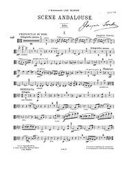 Scene andalouse : Viola part by Turina, Joaquín