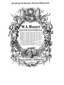 Church Sonata (Church Sonata No.8Church ... Volume K.225/241b by Mozart, Wolfgang Amadeus