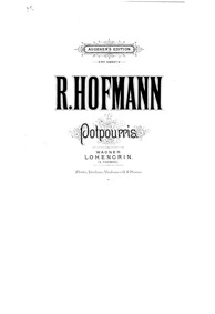 Lohengrin, WWV 75 : Score Volume WWV 75 by Wagner, Richard
