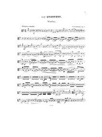 String Quartet No.4, Op.35 : Viola Volume Op.35 by Volkmann, Robert
