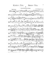 Børne-Trio, Op.31 (Kinder Trio, Op.31) :... Volume Op.31 by Henriques, Fini