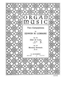 Clair de lune, Op.104 : Complete Score Volume Op.104 by Lemare, Edwin Henry