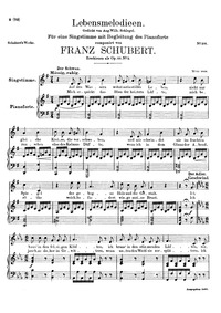 Lebensmelodien, D.395 (Op.111 No.2) (Mel... Volume D.395 (Op.111 No.2) by Schubert, Franz